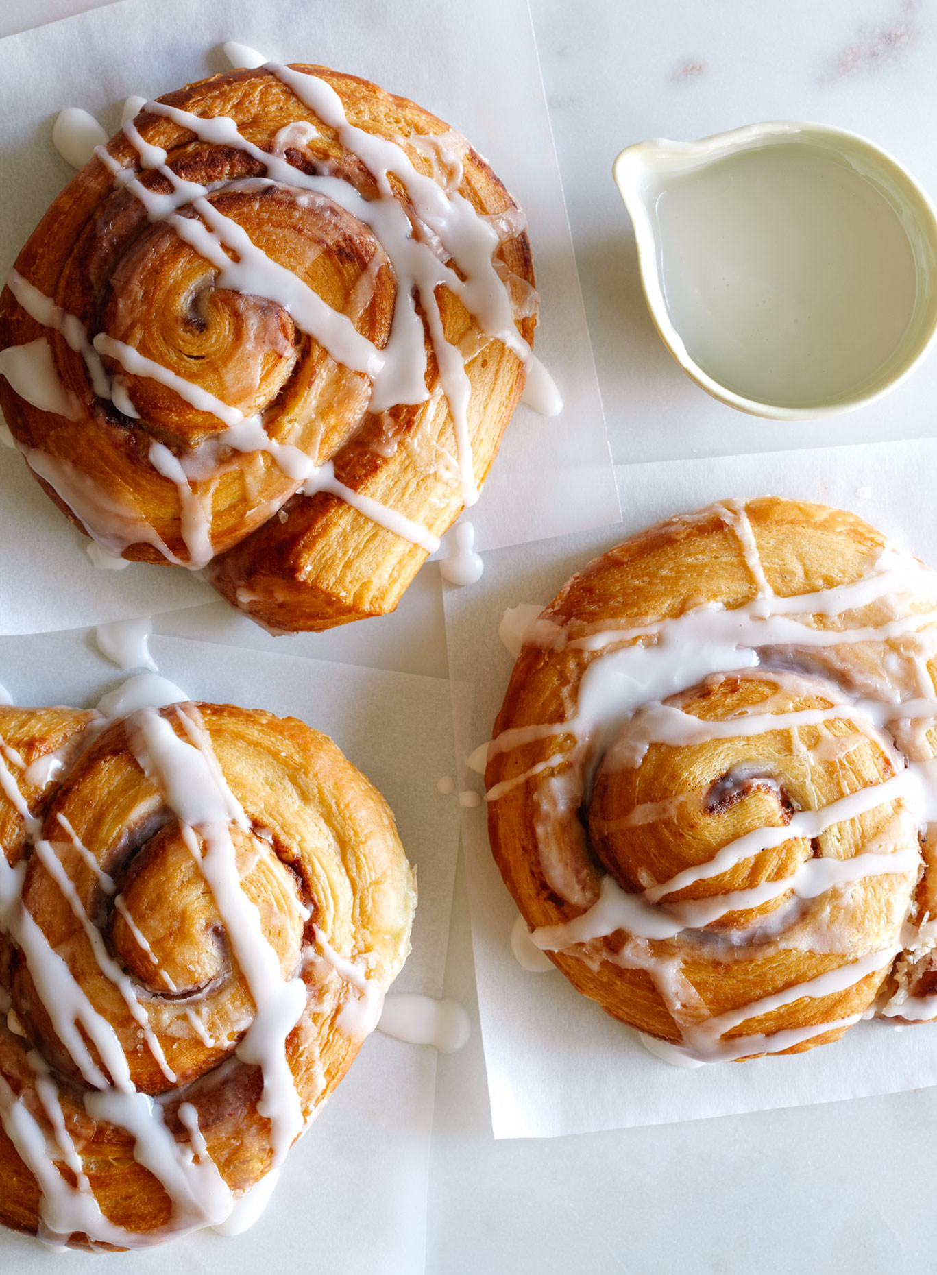 Cinnamon Buns photography - commercial food photographer Los Angeles
