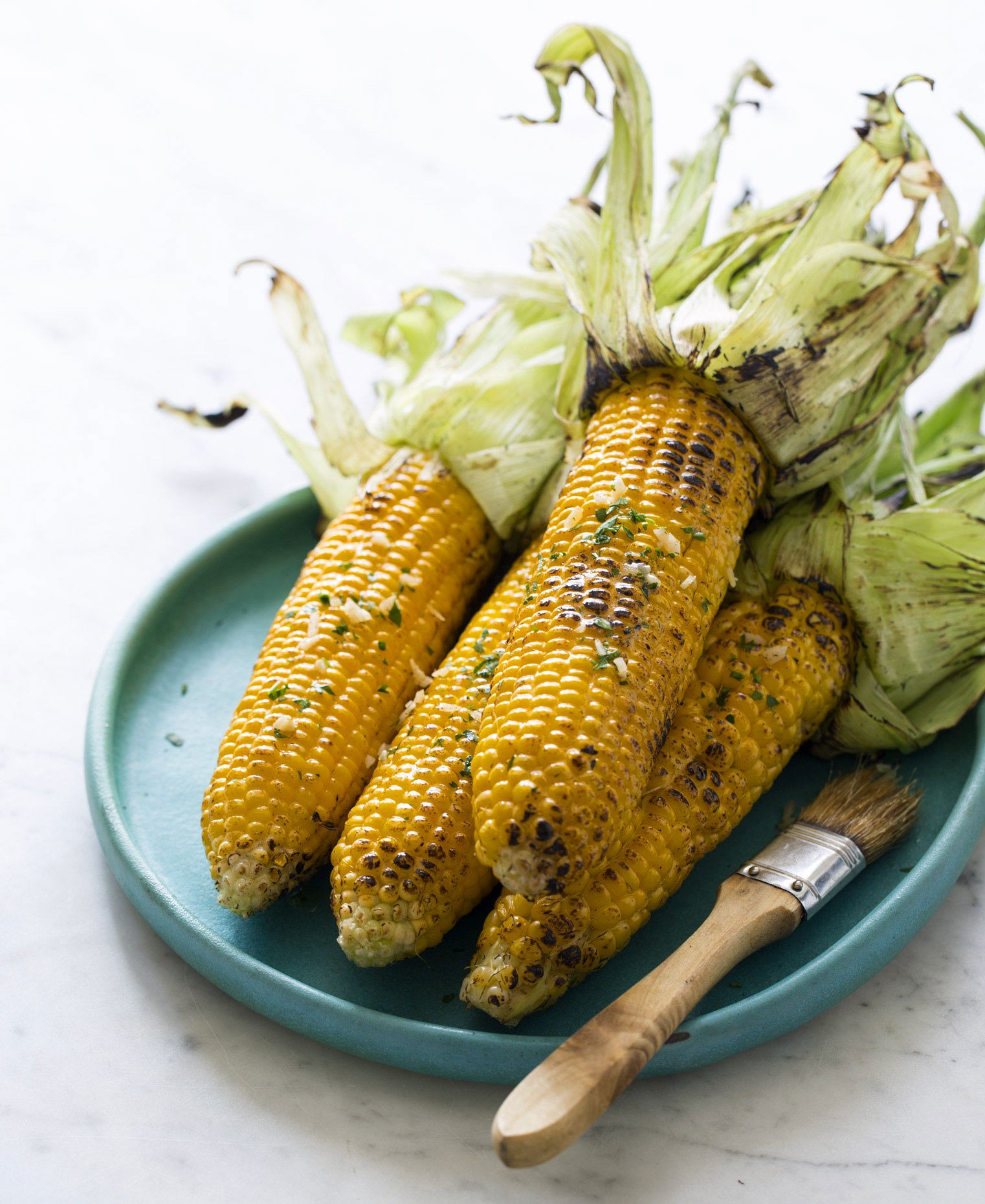 Roasted Corn by a Commercial Food Photographer
