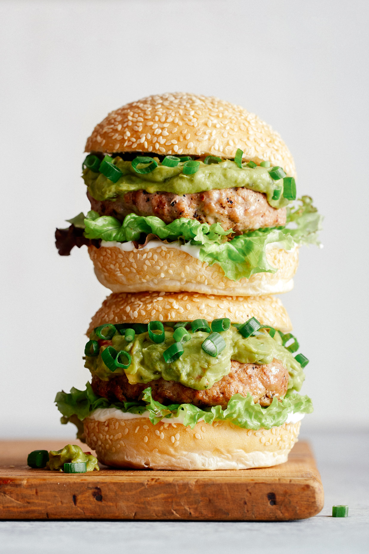 Turkey burger - LA Food Photographer