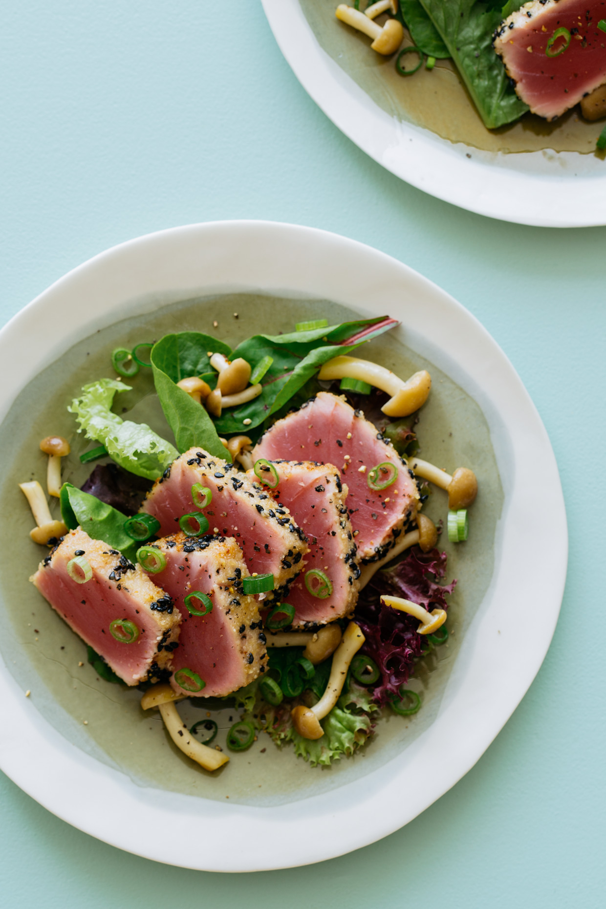 Seared Tuna Salad - Commercial Food Photographer Teri Lyn Fisher