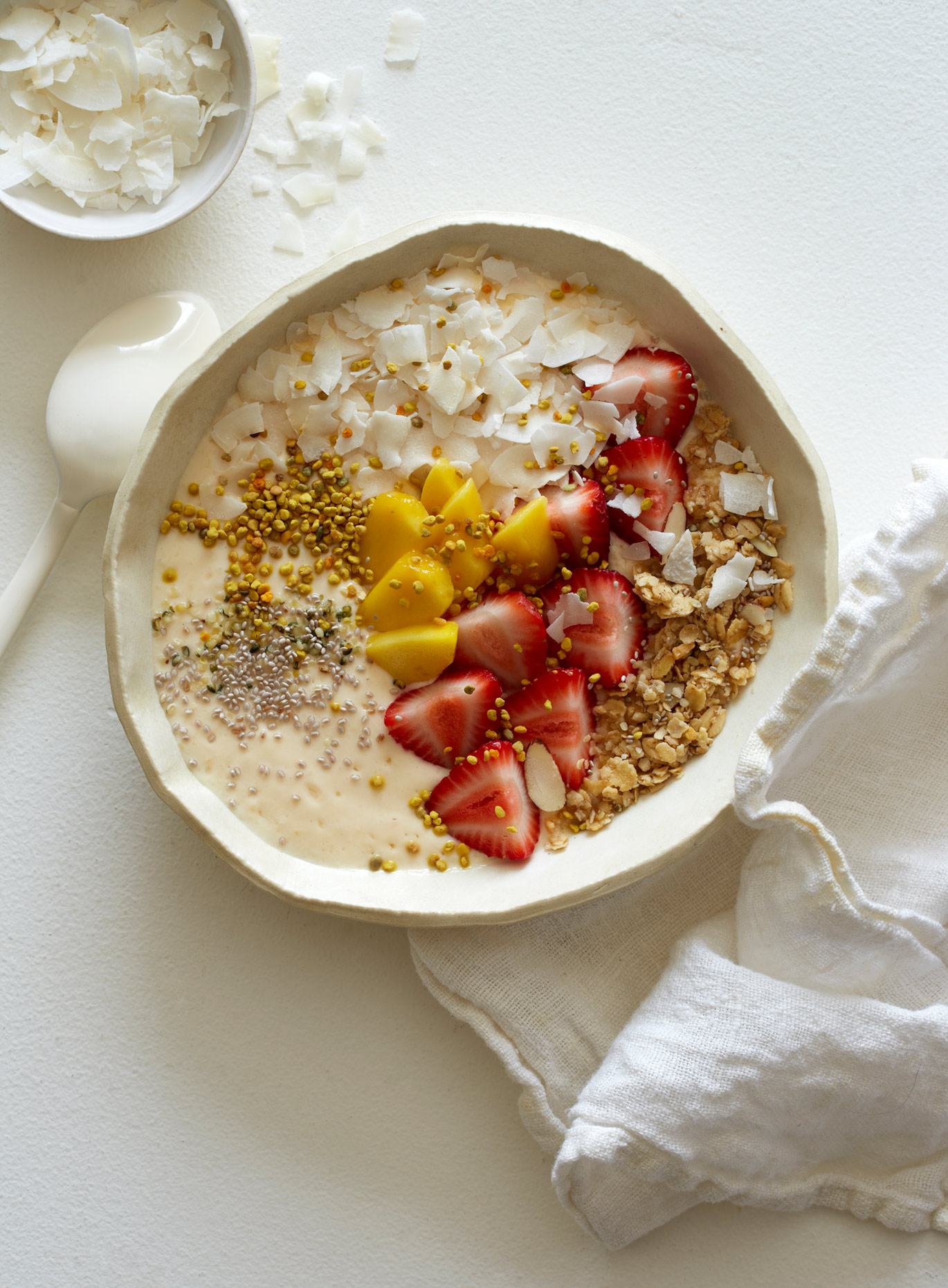 Smoothie bowl by Teri Lyn Fisher a food photographer