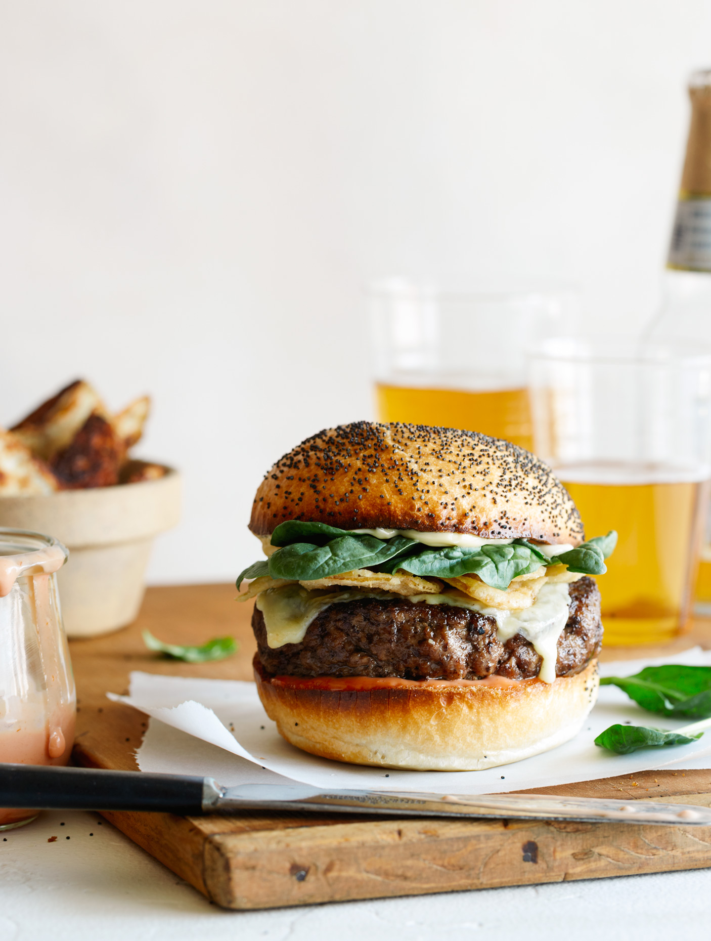 Specialty Burger photography by Teri Lyn Fisher photographer