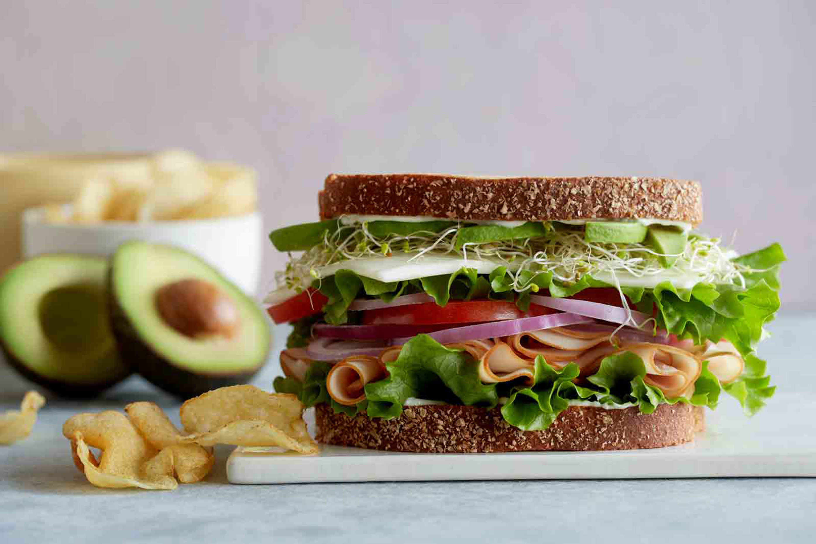 Sandwich photography by Teri Lyn Fisher