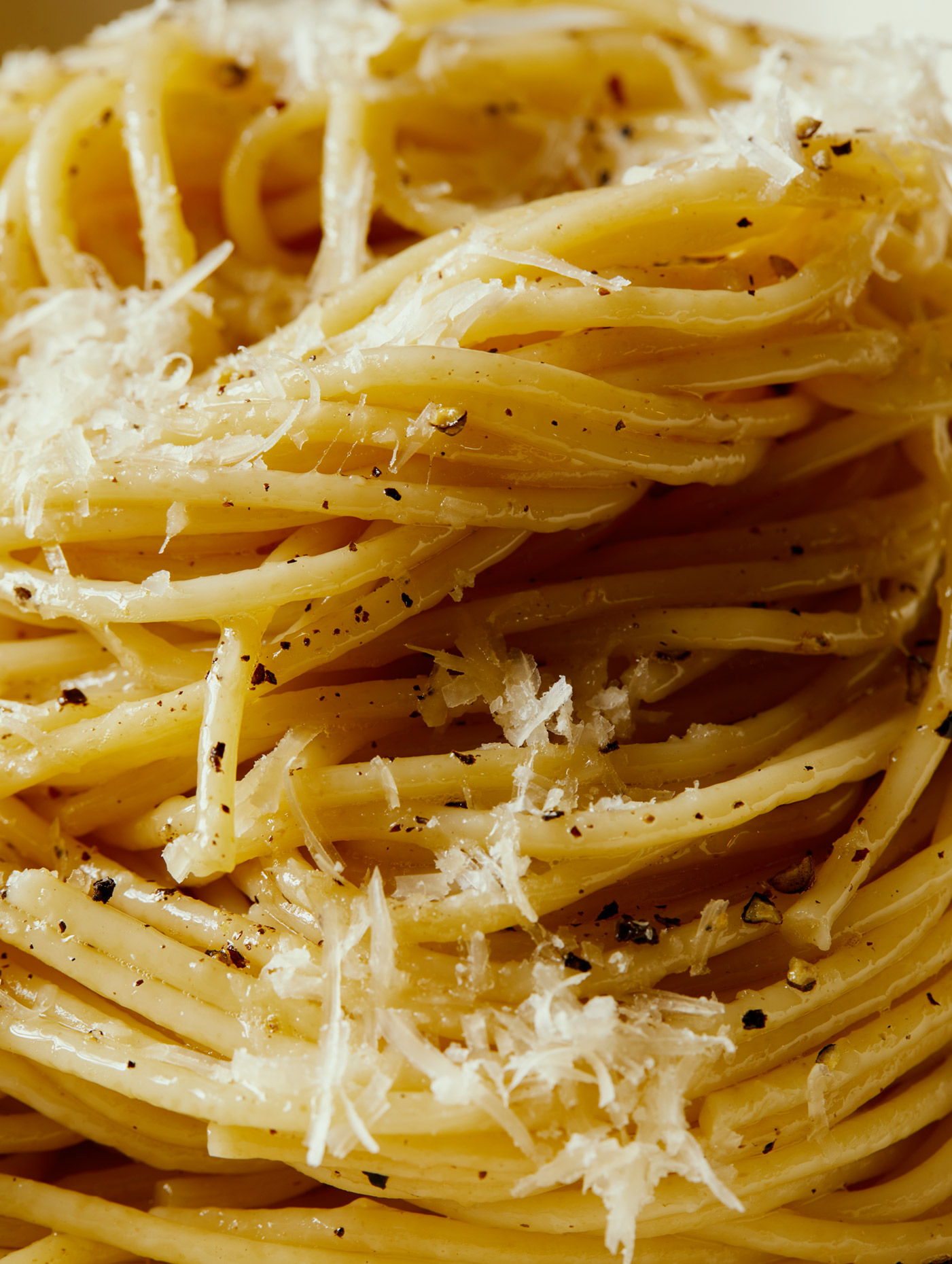 Cacio E Pepe by Los Angeles Food Photographer Teri Lyn Fisher