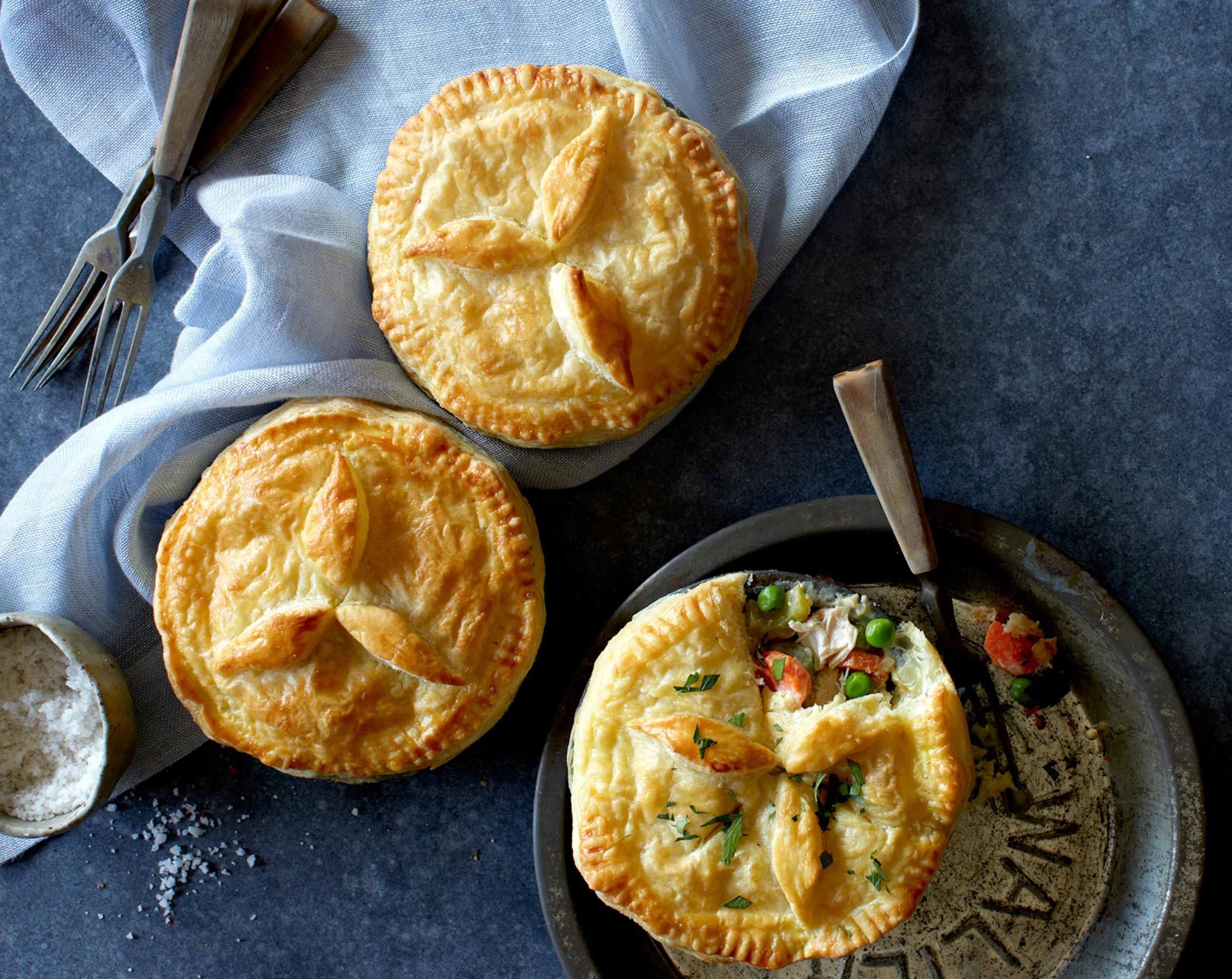 Chicken Pot Pie by Teri Lyn Fisher LA food photographer