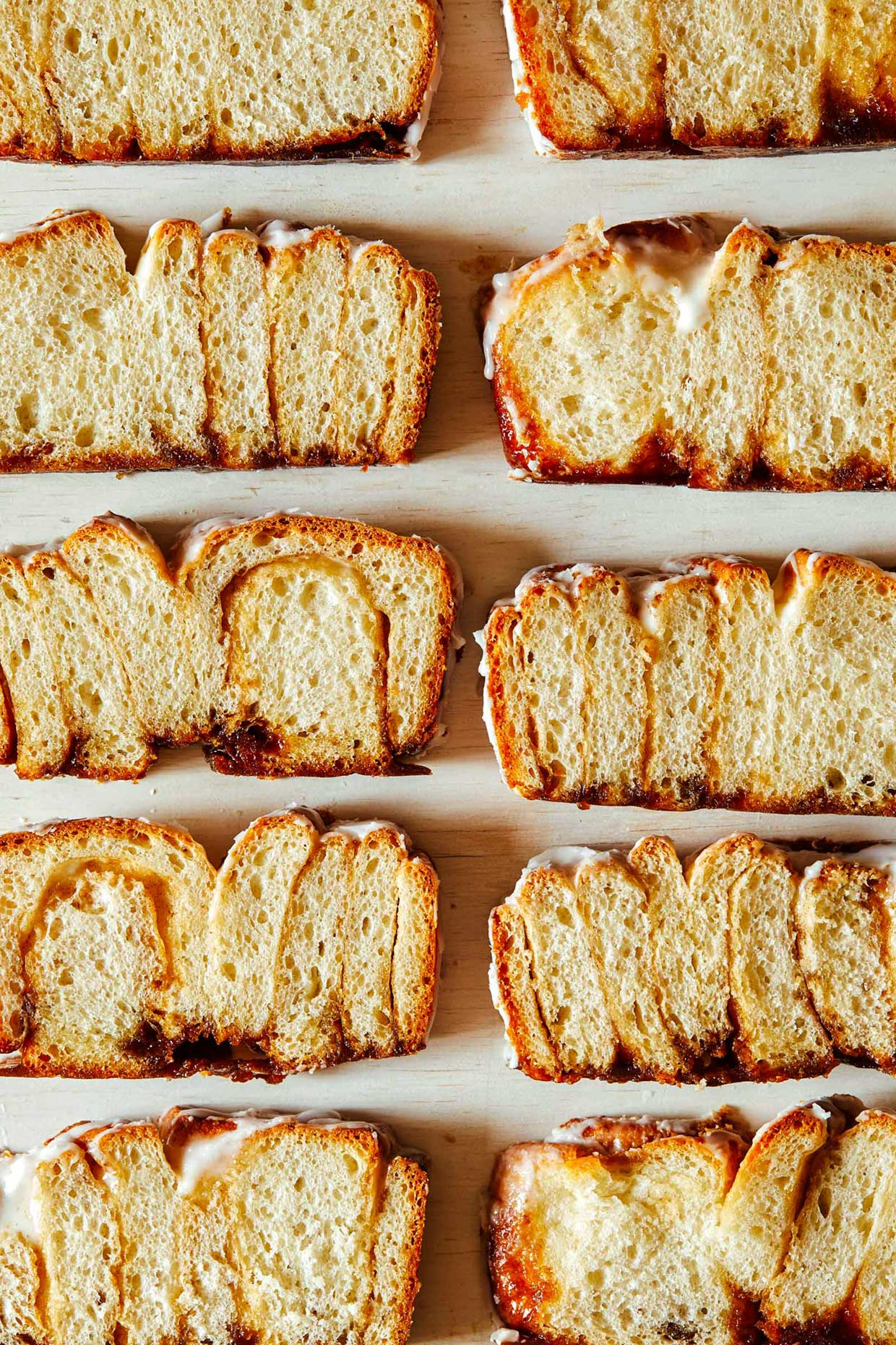 Cinnamon bread sliced by Food Photographer of Los Angeles