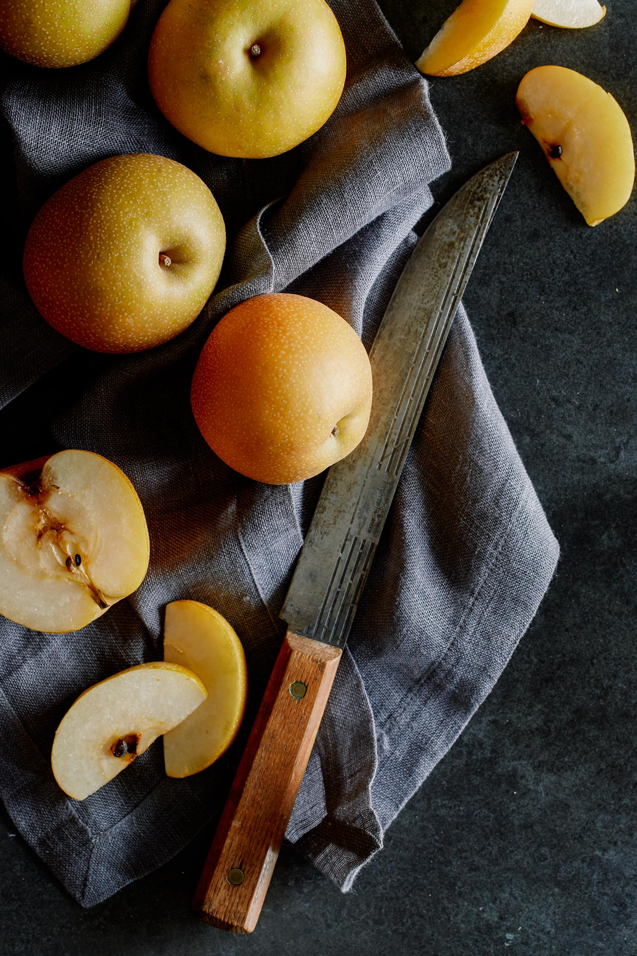 Pears by Teri Lyn Fisher - a commercial food photographer