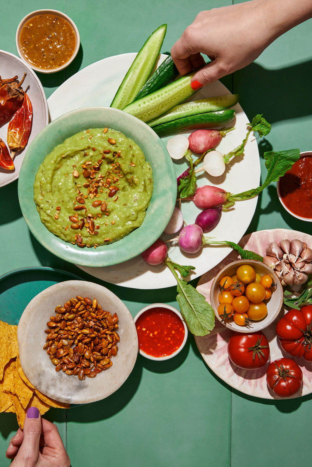 Guacamole in the hot summer sun by Teri Lyn Fisher photographer
