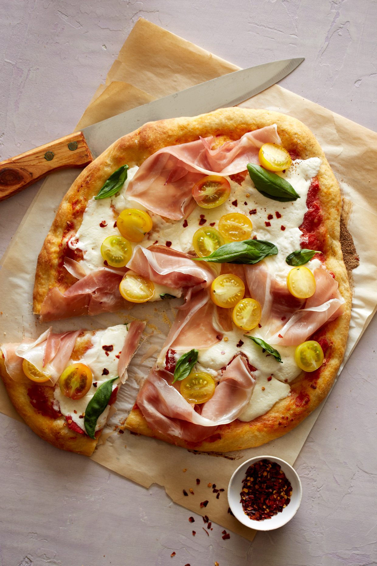 Pizza by Teri Lyn Fisher a commercial food and product photographer