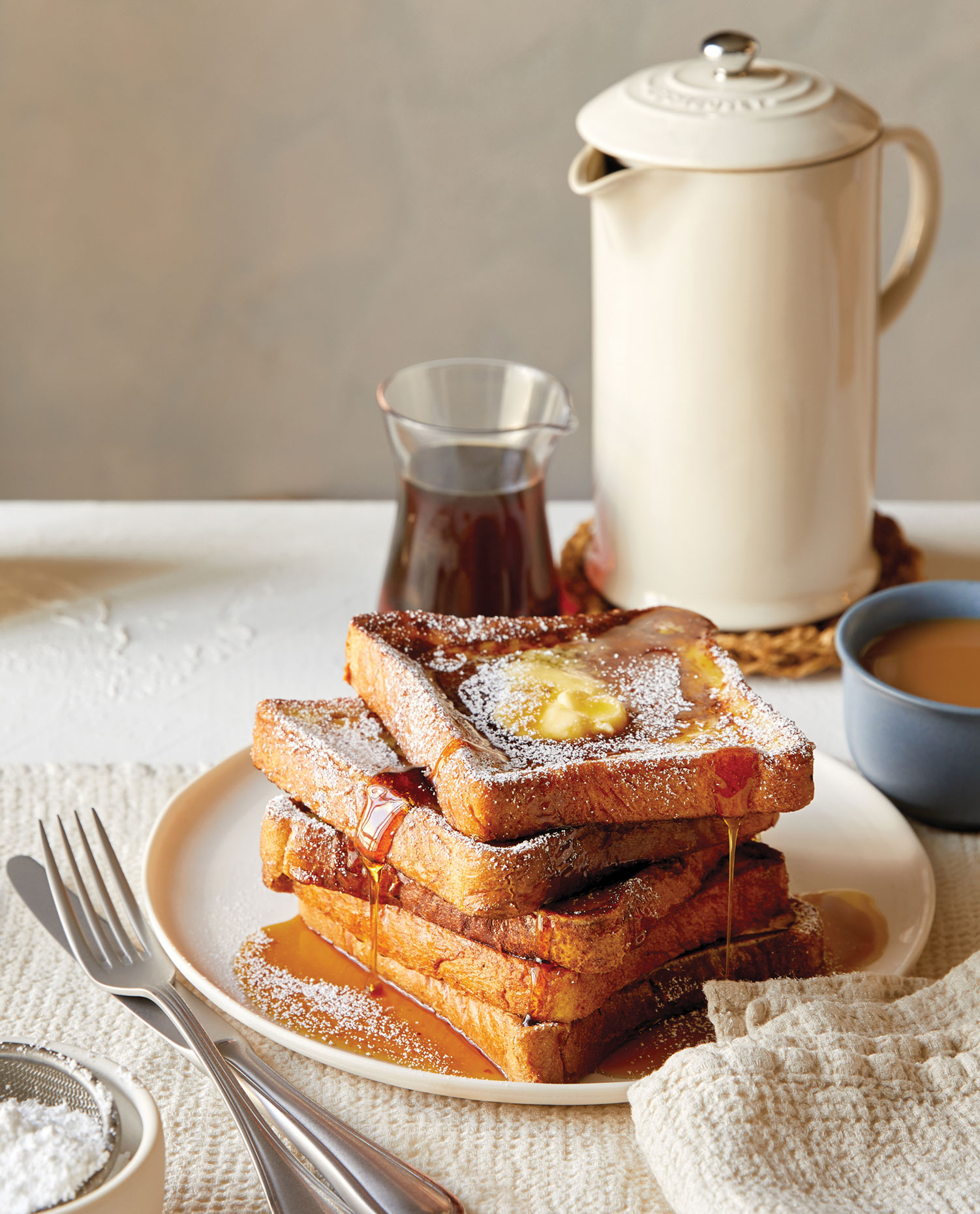 French Toast with Syrup by a Los Angeles Food Photographer