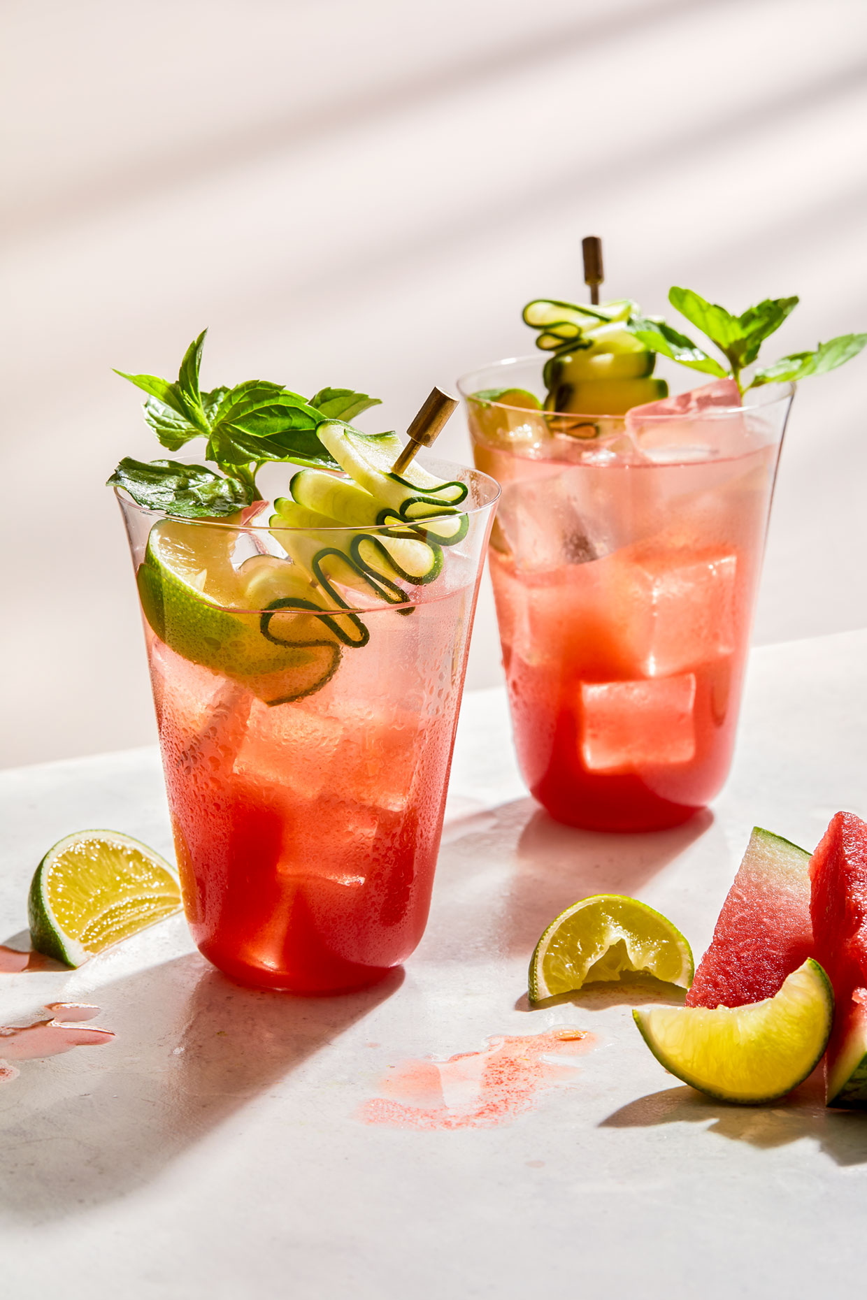 Watermelon cocktail by Teri Lyn Fisher a Los Angeles photgrapher