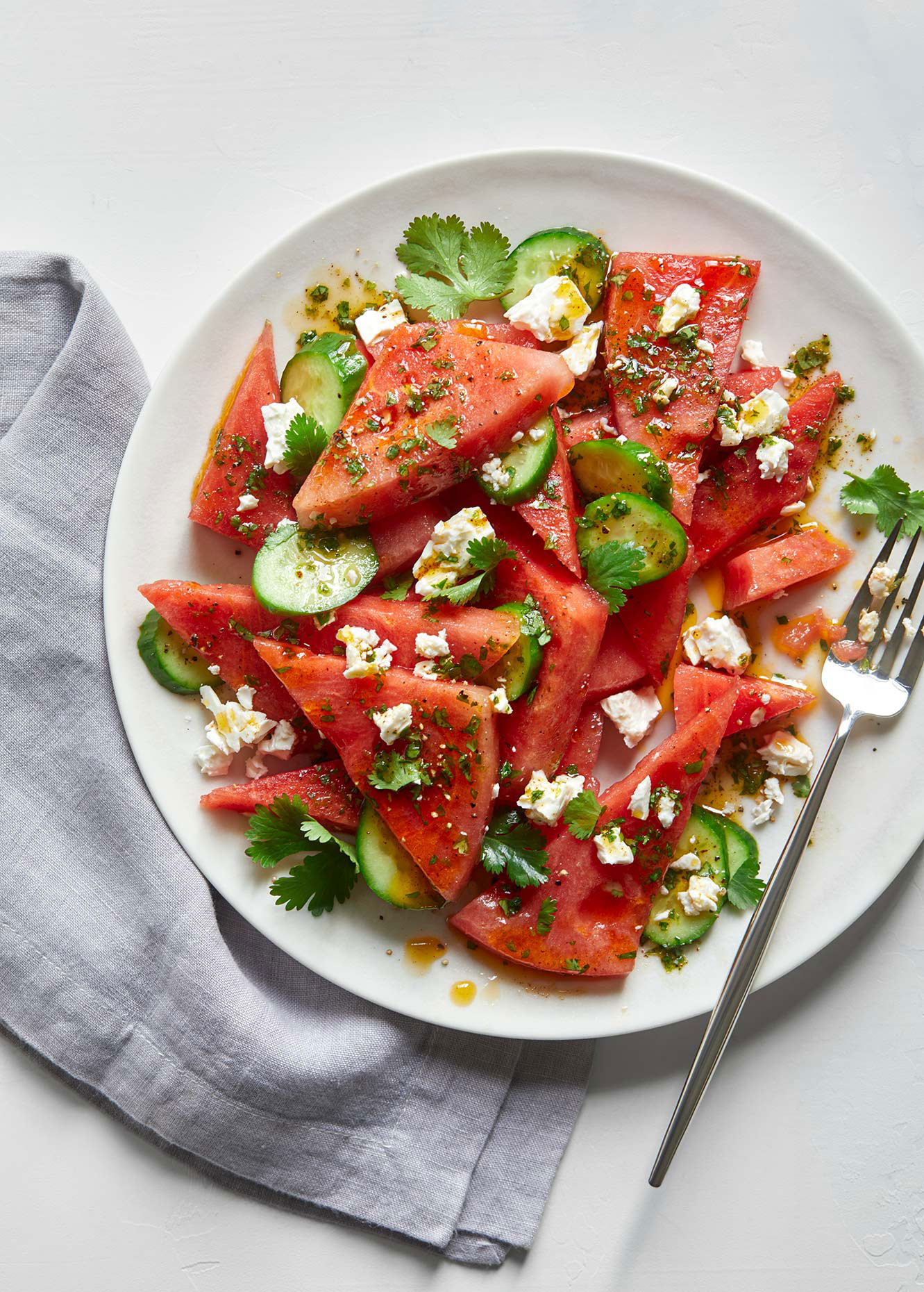 Watermelon Salad - Advertising photography Food